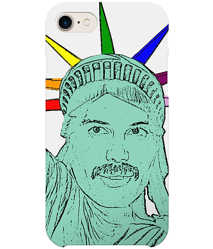 Freddie Mercury as The Statue of Liberty, Funny, Gay, i-Phone Case