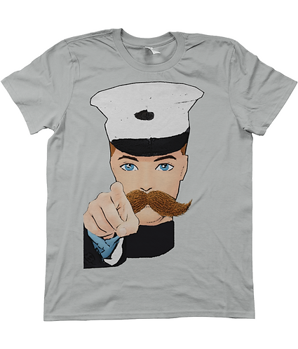 Hey You! Iconic Wartime Poster Men's T-Shirt