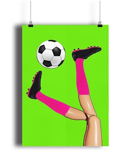 Footie Poster