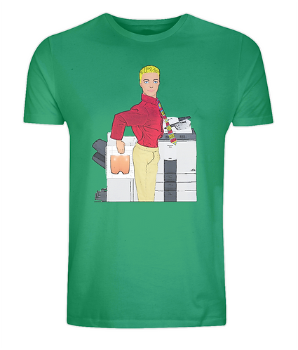 Trouble at Photocopier Tshirt