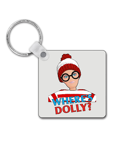 Funny, Where's Dolly Keyring