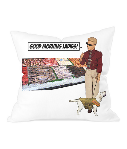Good Morning Ladies Throw Cushion Cover