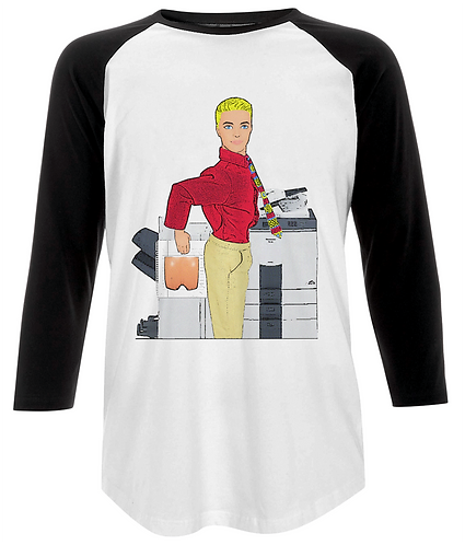 Fun At The Photocopier Baseball Shirt