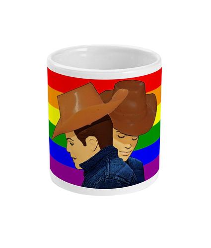 Brokeback Mountain, Gay Rainbow Mug