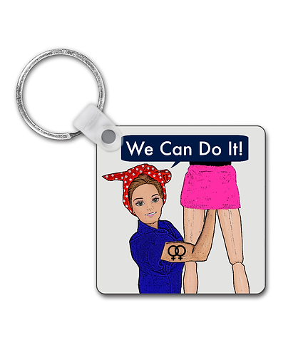 We Can Do It, Rude, Lesbian Keyring