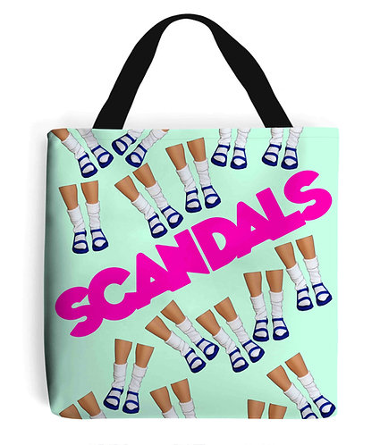 Socks & Sandals = Scandals! Funny Tote Bag