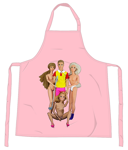 Anyone For A Foursome Apron