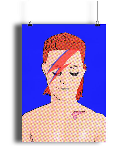 Zowie Bowie Poster