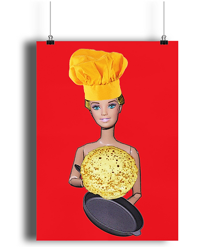 Naked Chef Poster
