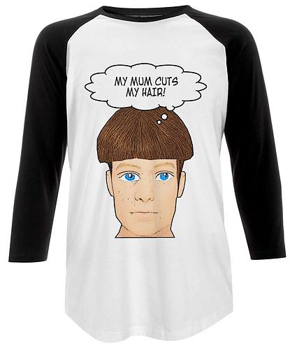 My Mum Cuts My Hair, Funny Baseball Shirt