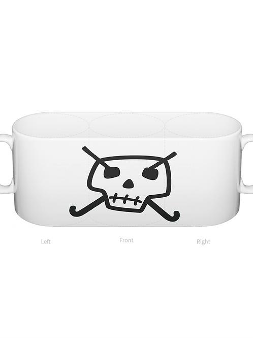 Skull & Hockey Sticks Mug