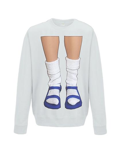 Socks & Sandals, Funny Sweatshirt