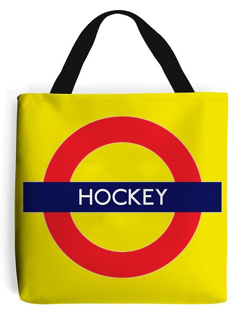 Field Hockey Tube Tote Bag