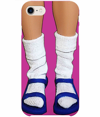 Socks & Sandals, Funny iPhone Case