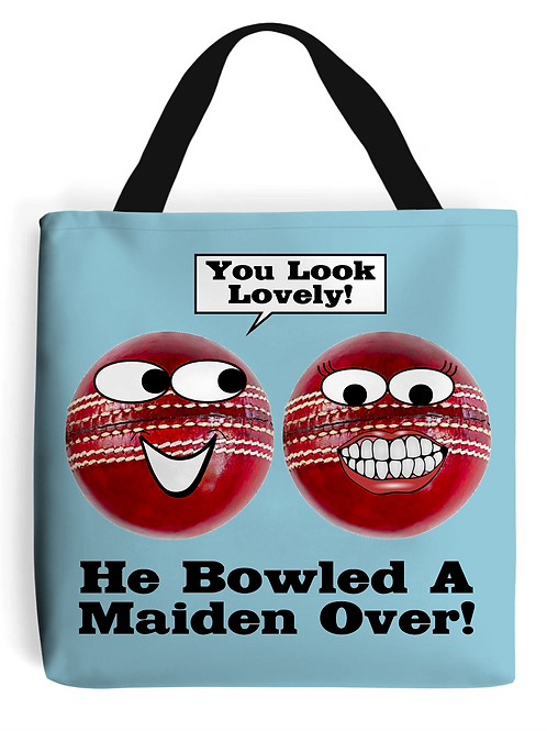 Maiden Over Tote Bag