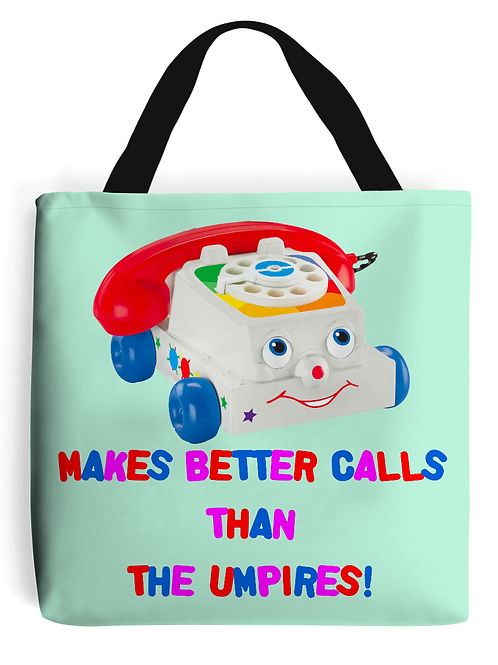 Makes Better Calls Than The Umpire Field Hockey Tote Bag