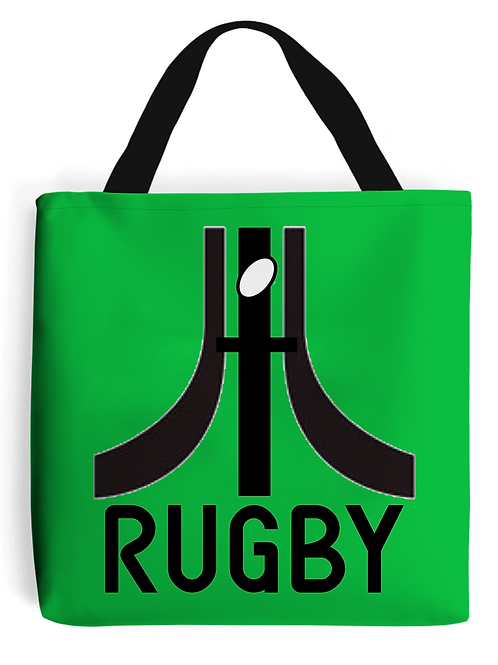 Retro Rugby Tote Bag