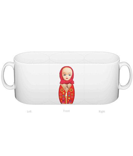 Matryoshka Doll With Big Boobs, Funny Mug