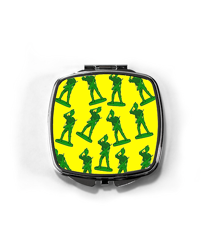 Girl Toy Soldiers Compact Mirror