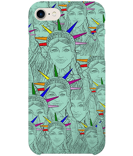 Madonna Morphed Into The Statue of Liberty i-Phone Case