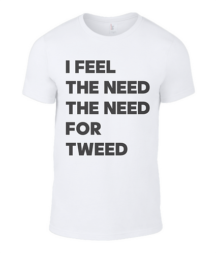 I Feel The Need The Need For Tweed Men's T-Shirt