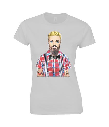 Hipster Ladies T-Shirt