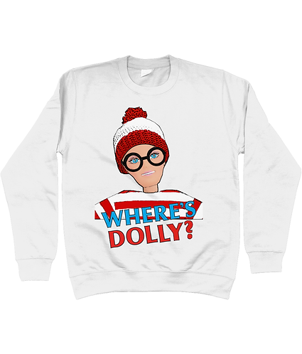 Where's Dolly? Funny, Sweatshirt