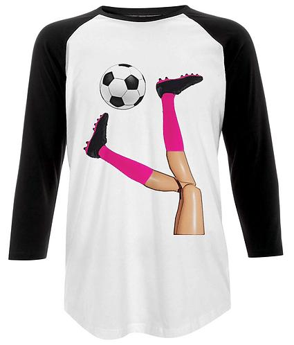 Women's Soccer Baseball Shirt