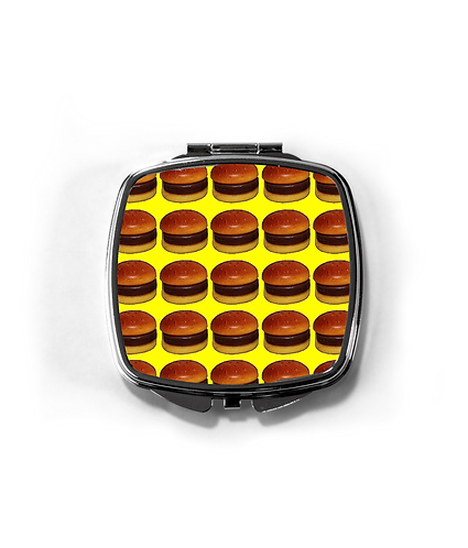 Hamburger Heaven Compact Mirror
