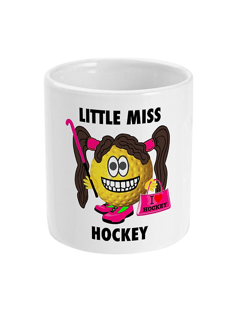 Little Miss Hockey Mug