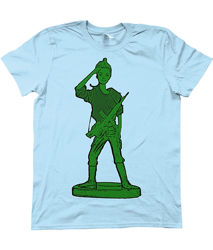 Toy Soldier Girl! Funny, Men's T-Shirt