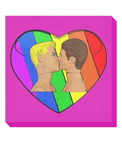 Love & Pride Canvas