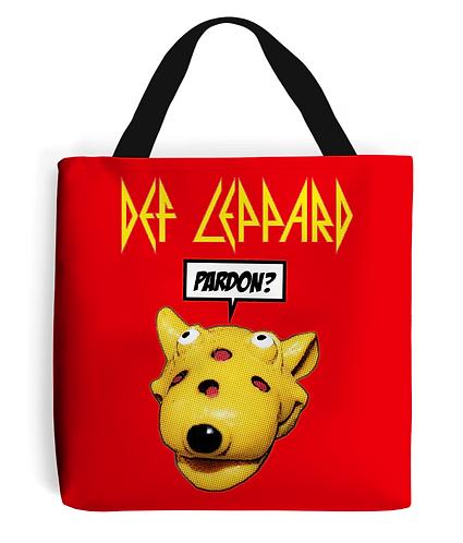 Def Leppard Tote Bag