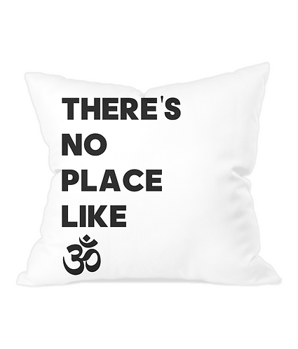 There's No Place Like Ohm Throw Cushion Cover