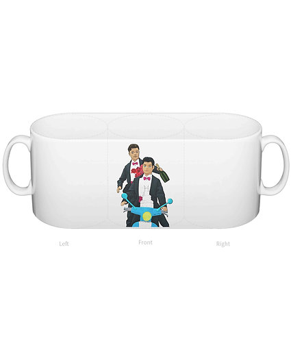 Just Married,Gay Mug