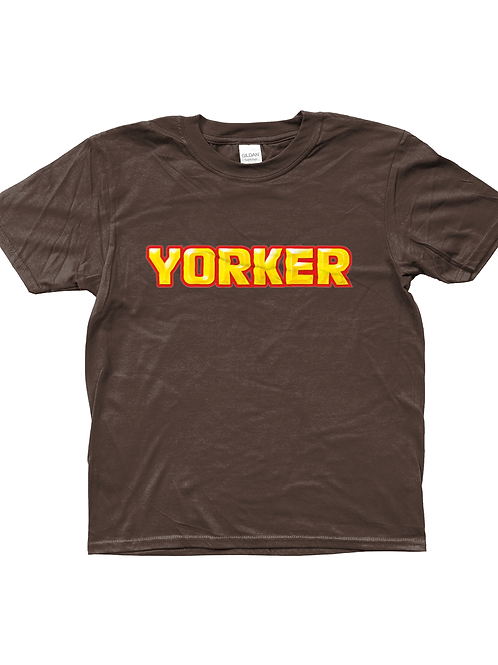 Yorker! Cool, Funny, Kids Cricket T-Shirt