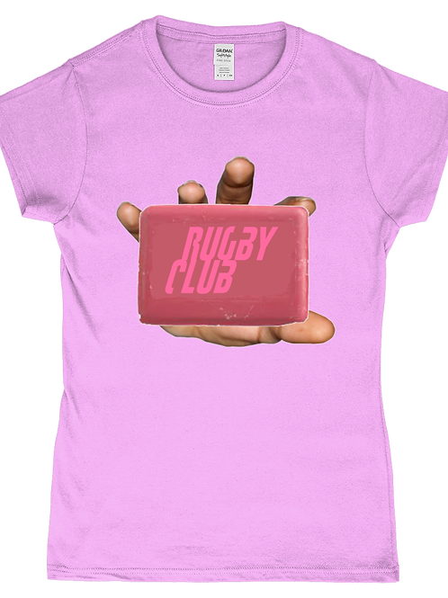 Rugby Club! Funny, Ladies Rugby T-Shirt