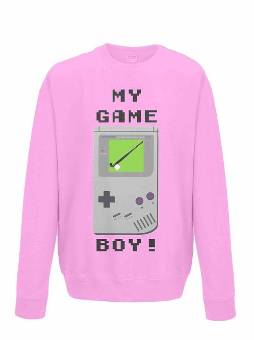 Hockey Is My Game Boy Field Hockey Sweatshirt
