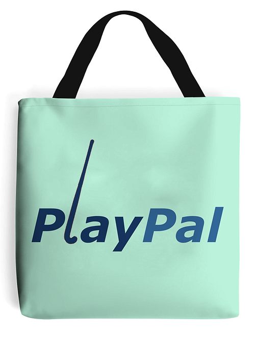 Play Pal! Field Hockey Tote Bag