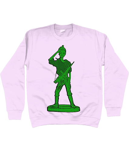 Toy Soldier Girl, Military Sweatshirt
