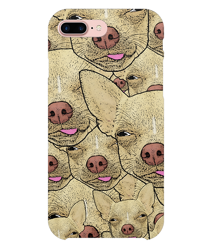 Funny Chihuahua's i-Phone Case