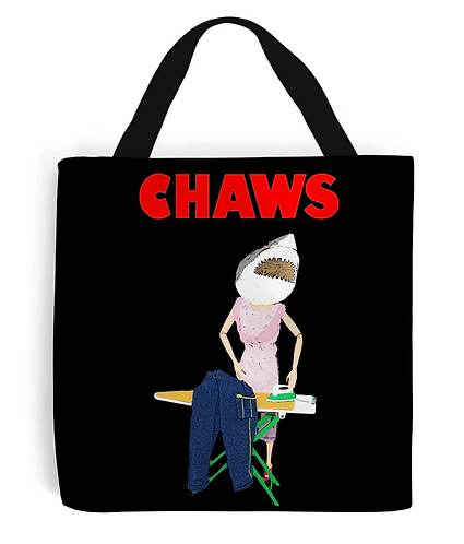Chaws, Funny Tote Bag