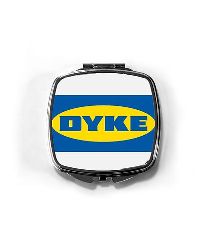 Funny Lesbian Compact Mirror! Dyke!