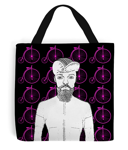 Penny For Your Cycling Thoughts Tote Bag