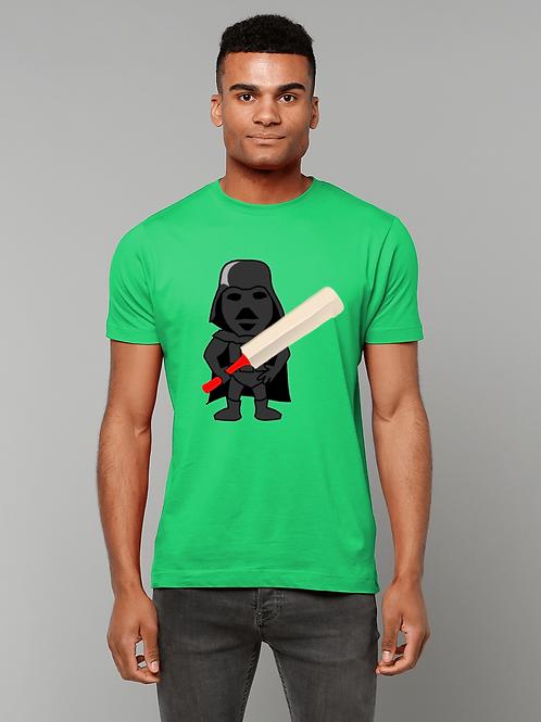 Darth Cricket! Cool, Men's Cricket T-Shirt