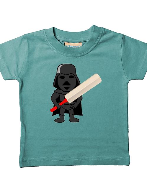 Darth Cricket! Cool, Funny, Babies Cricket T-Shirt