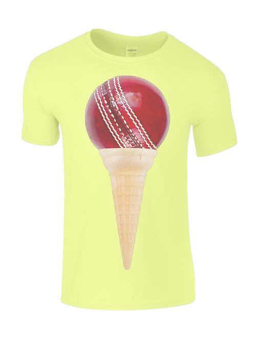 Ice Cream Cricket Mens T-Shirt
