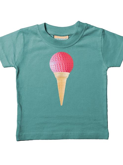 Hockey Ball Ice Cream Cone! Cool, Hockey Babies Field Hockey T-Shirt