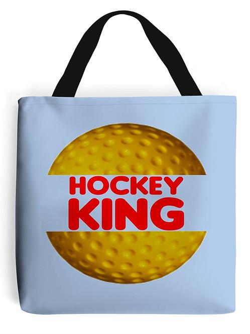 Hockey King Field Hockey Tote Bag