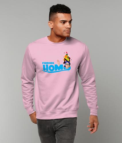 Finding Homo! Funny, Gay, Sweatshirt